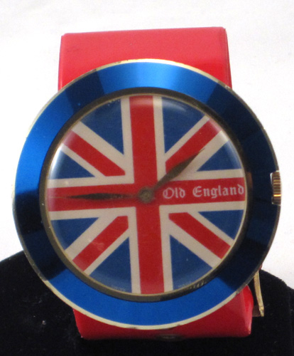 Richard Loftus Union Jack Watch by Accurist - 1967
