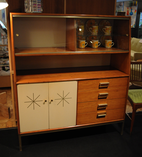 Gorgeously Crafted From Cherry With Iconic Mid Century Stars On The Painted  Cabinet Doors These Beauties Are A True Sight To Behold.